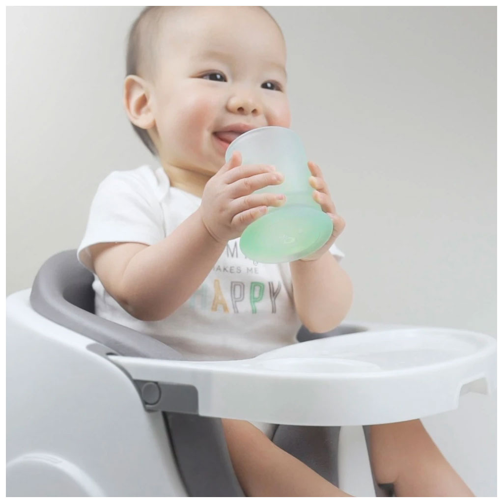OlaBaby Silicone Training Cup Coral - UrbanBaby shop