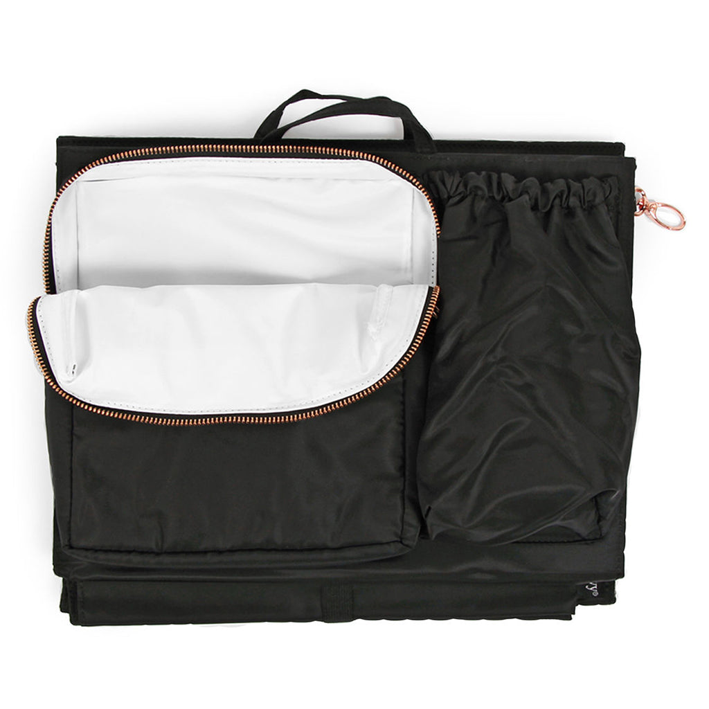 ToteSavvy Deluxe Black - UrbanBaby shop