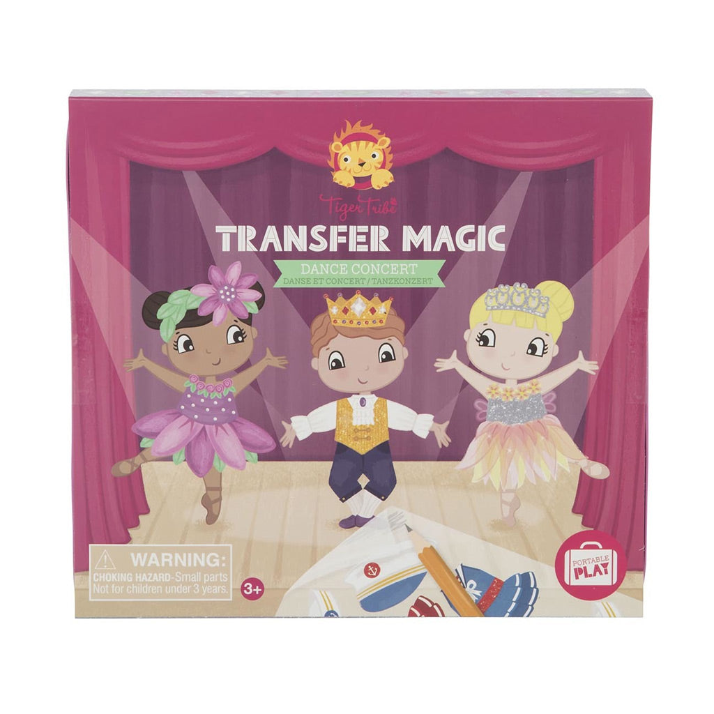 Tiger Tribe Transfer Magic - Dance Concert - UrbanBaby shop