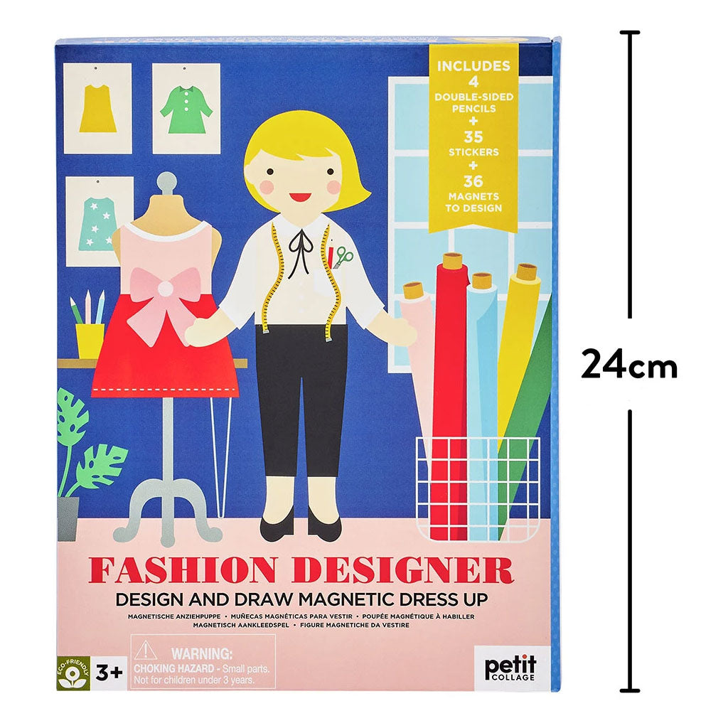 Petit Collage Magnetic Set - Fashion Designer - UrbanBaby shop