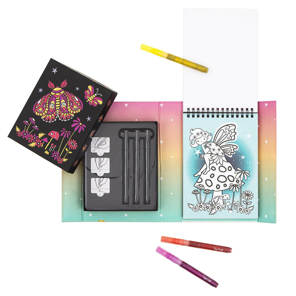 Tiger Tribe Glitter Colouring Set - Night Garden - UrbanBaby shop