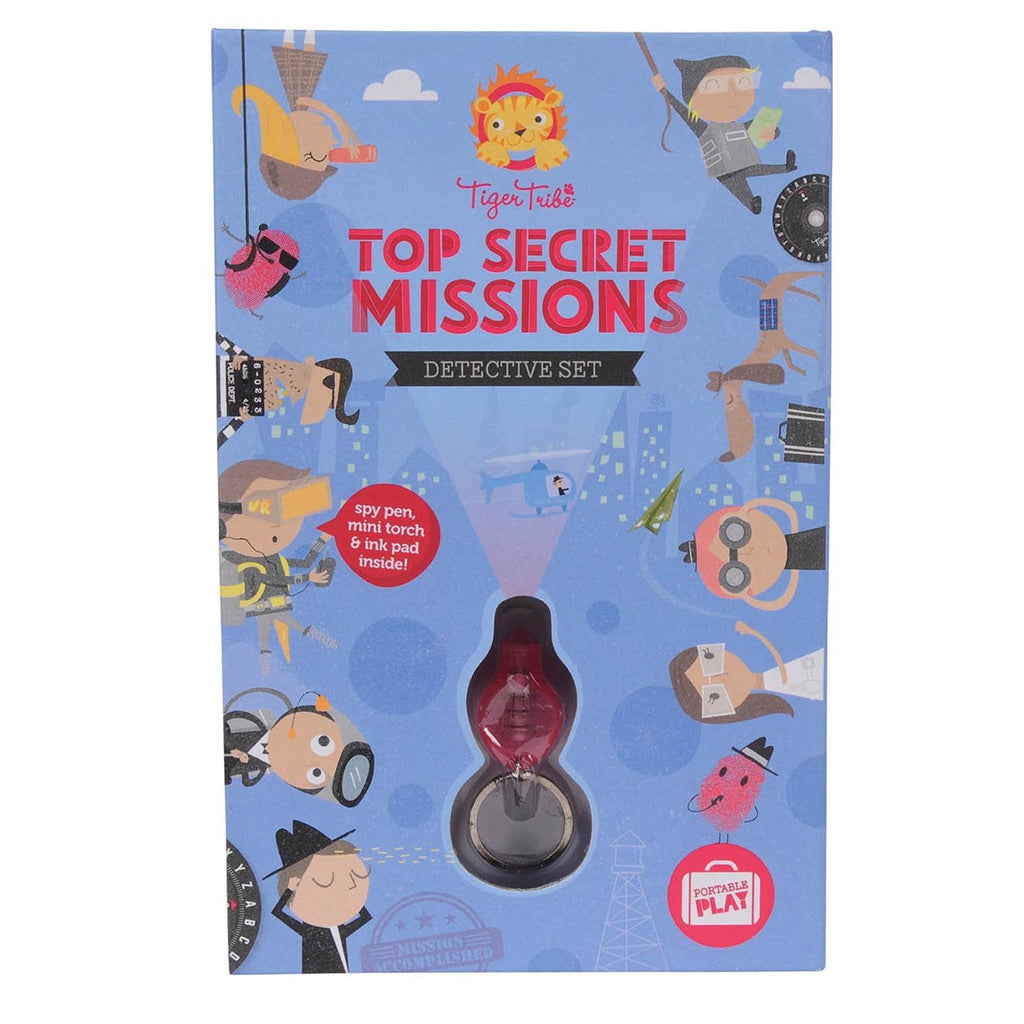 Tiger Tribe Top Secret Missions - Detective Set - UrbanBaby shop