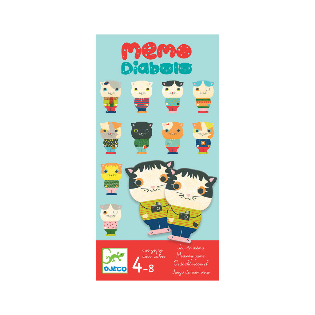Djeco Memory Game - Diabolo - UrbanBaby shop