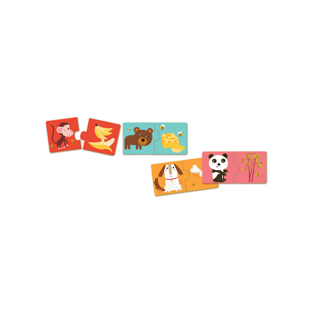 Djeco Duo Puzzle Dinner is Ready - UrbanBaby shop