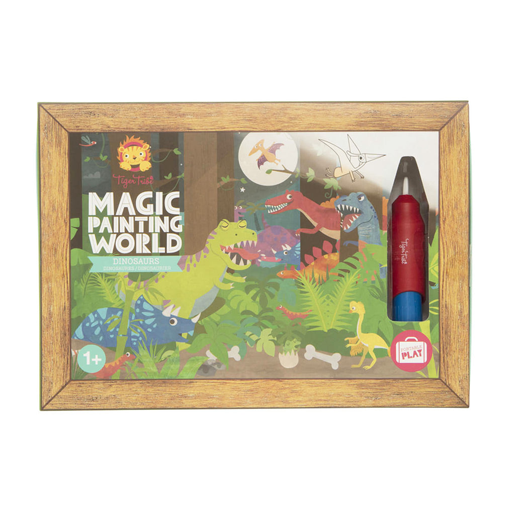 Tiger Tribe Magic Painting World - Dinosaur - UrbanBaby shop