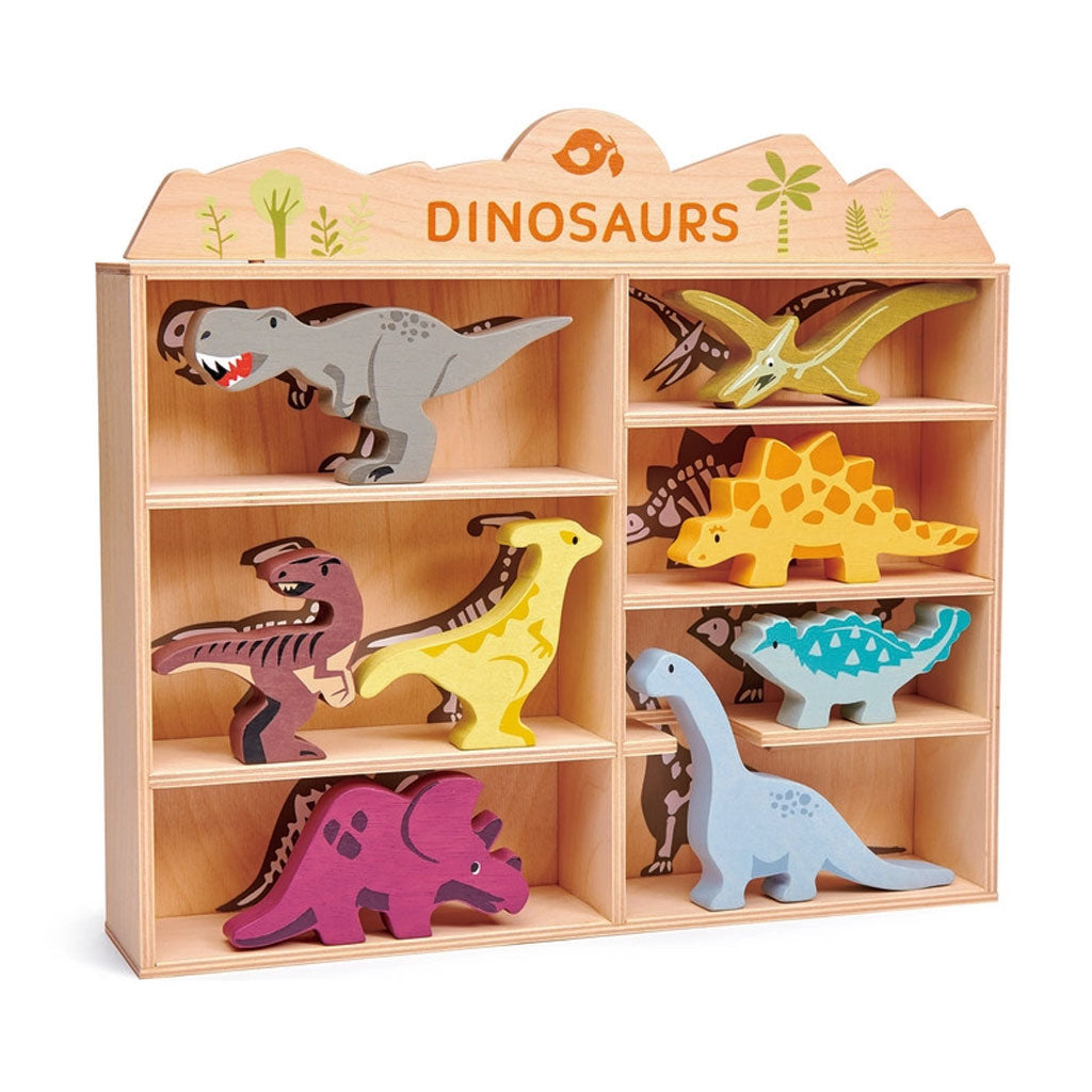 Tender Leaf Dinosaur Set with Display Box - UrbanBaby shop