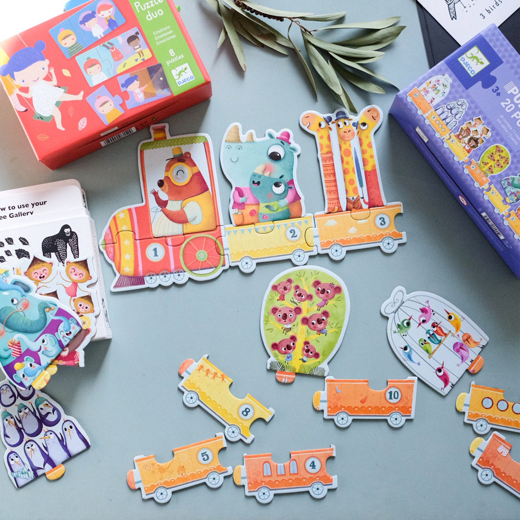 Djeco Duo Puzzle I Count - UrbanBaby shop