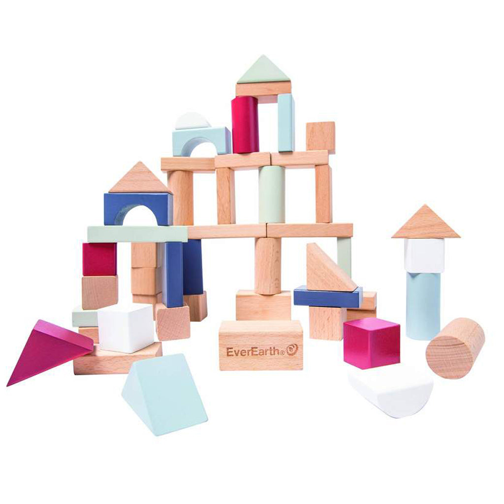 EverEarth Building Blocks 50 pcs - UrbanBaby shop