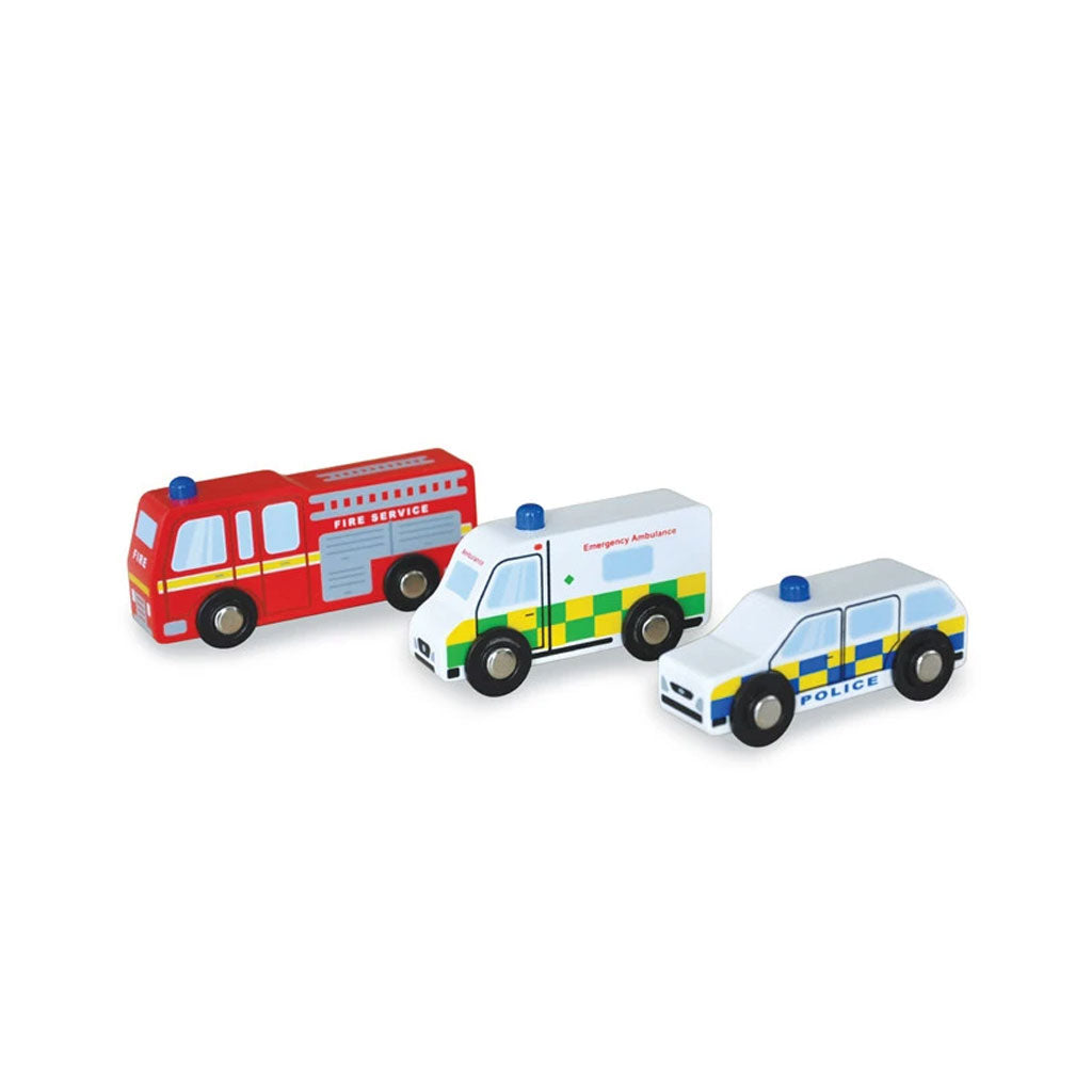 Indigo Jamm Emergency Vehicles - UrbanBaby shop