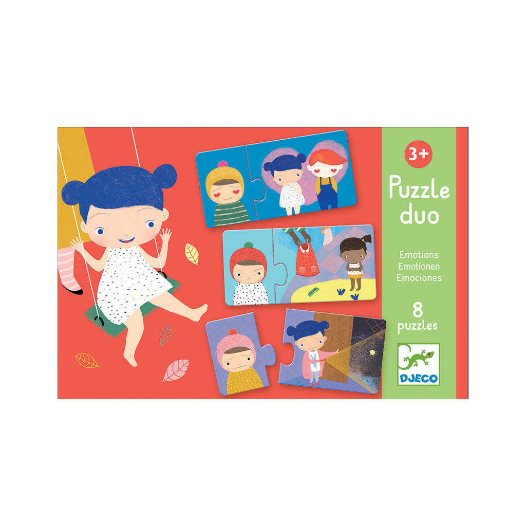 Djeco Duo Puzzle Emotions - UrbanBaby shop