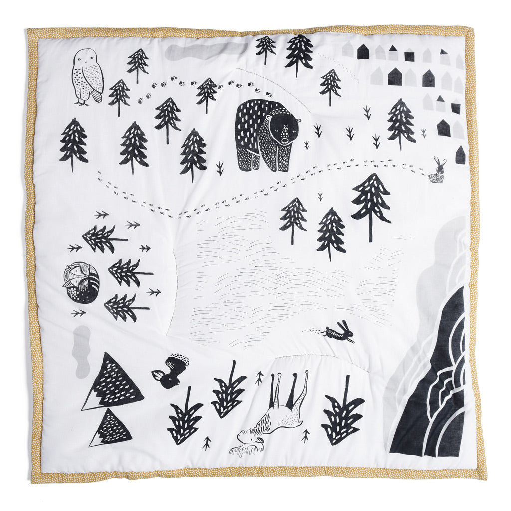 Wee Gallery Organic Cotton Play Mat Explore