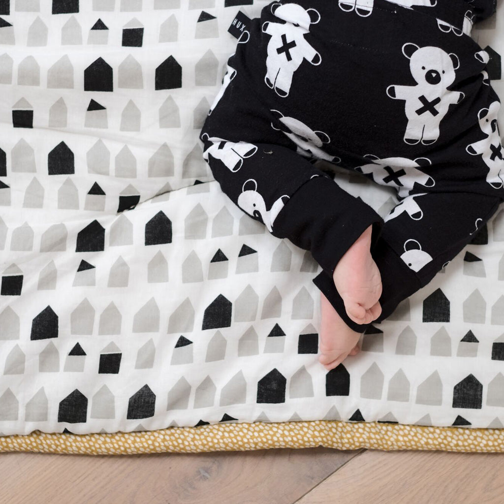 Wee Gallery Organic Cotton Play Mat - Explore - UrbanBaby shop