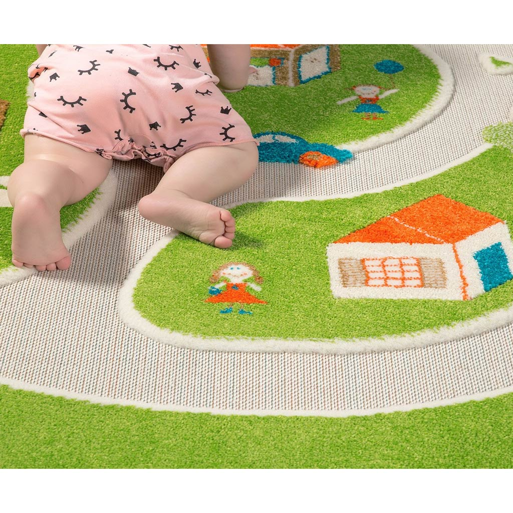 IVI Interactive Play Rug Farm Medium