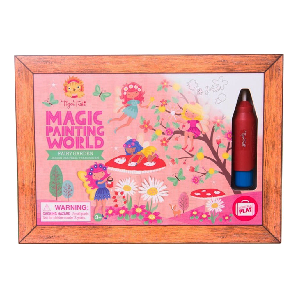Tiger Tribe Magic Painting World - Fairy Garden - UrbanBaby shop