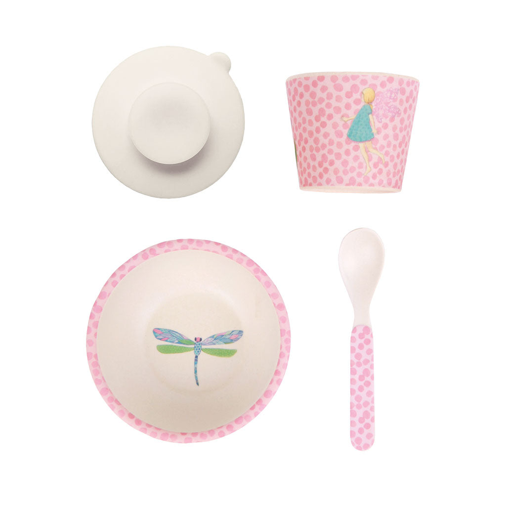 Love Mae Bamboo Baby Feeding Set Fairy - UrbanBaby shop
