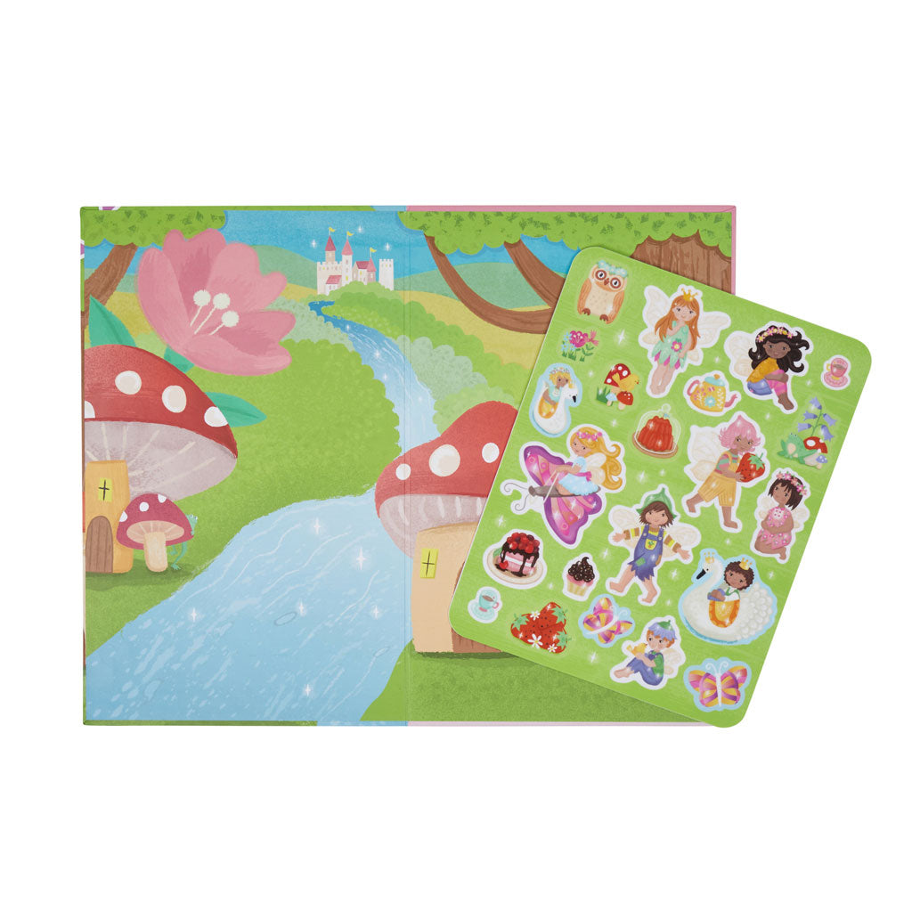 Tiger Tribe Moveable Playbook - Fairy Kingdom - UrbanBaby shop
