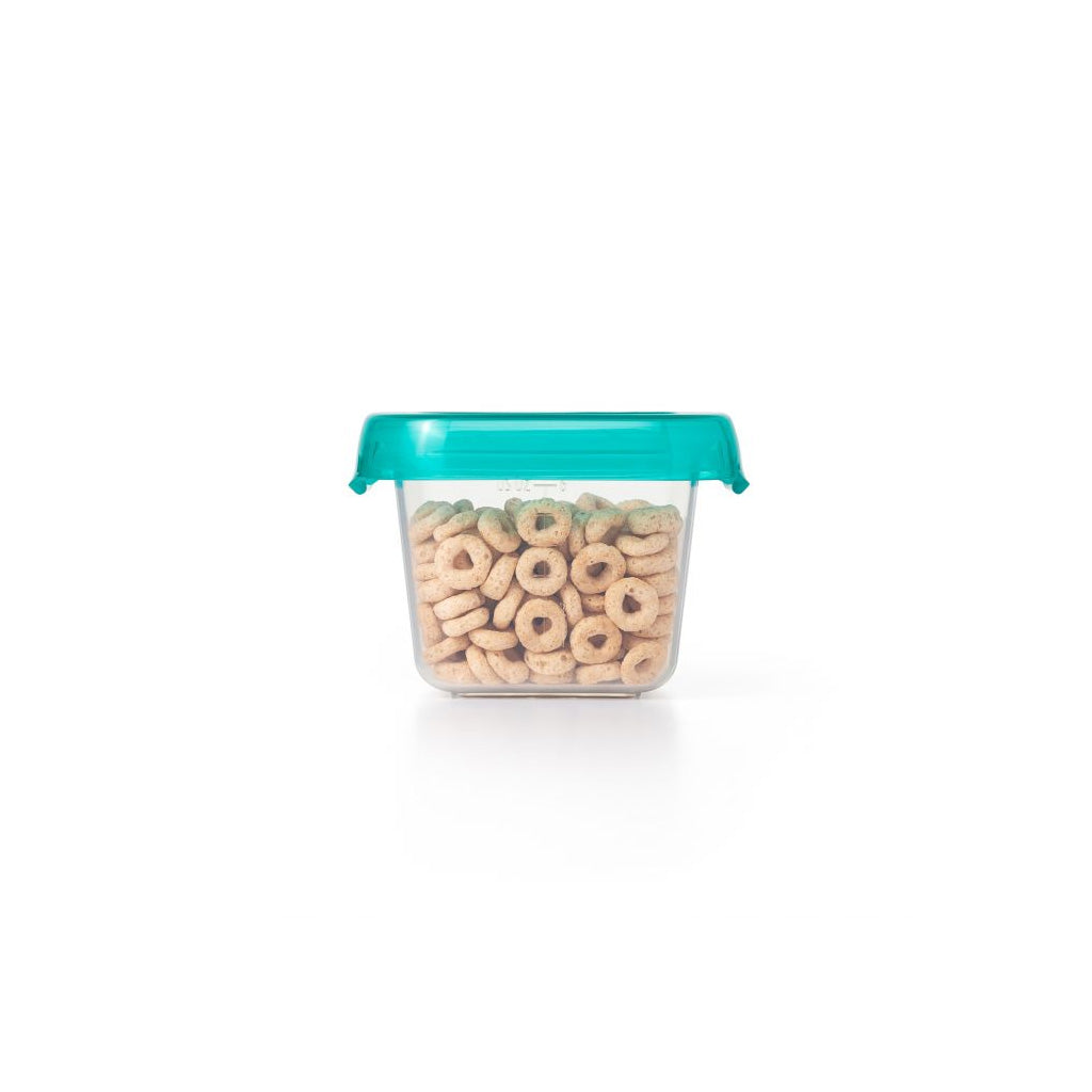 OXO tot Baby Blocks Freezer Storage Containers 175ml Teal - UrbanBaby shop