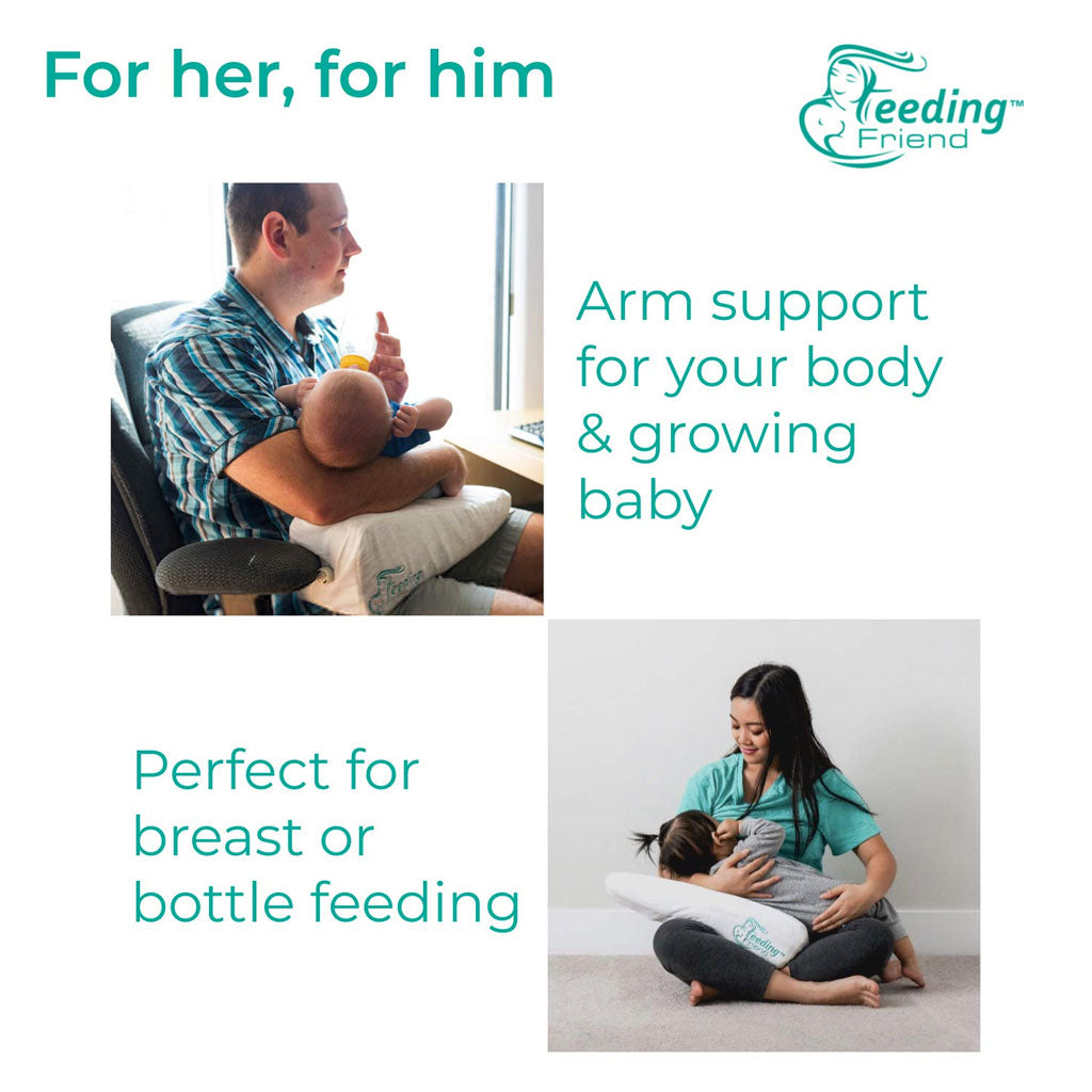 Feeding Friend Nursing Pillow - White - UrbanBaby shop