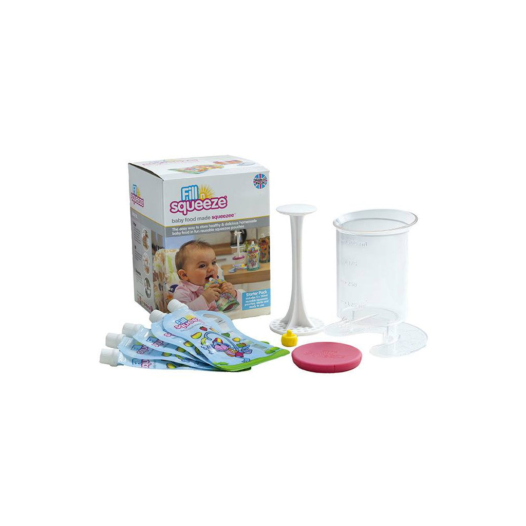 Fill n Squeeze Starter Pack - UrbanBaby shop
