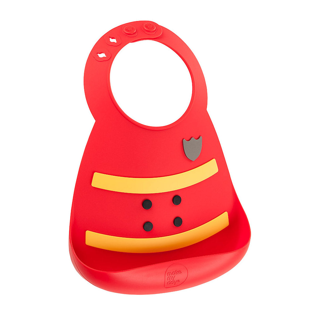 Make My Day Bib Fireman - UrbanBaby shop