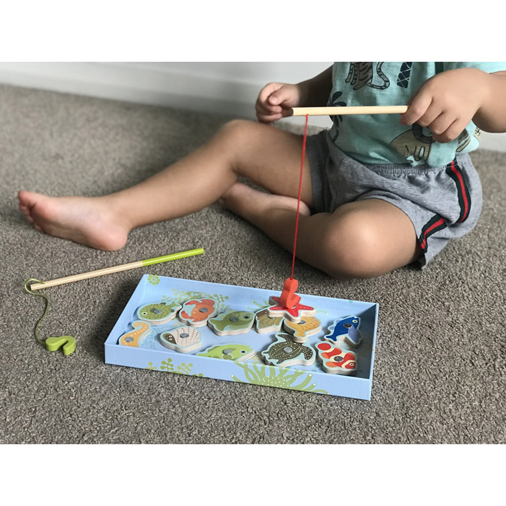 Djeco Magnetics Colour Fishing Game - UrbanBaby shop