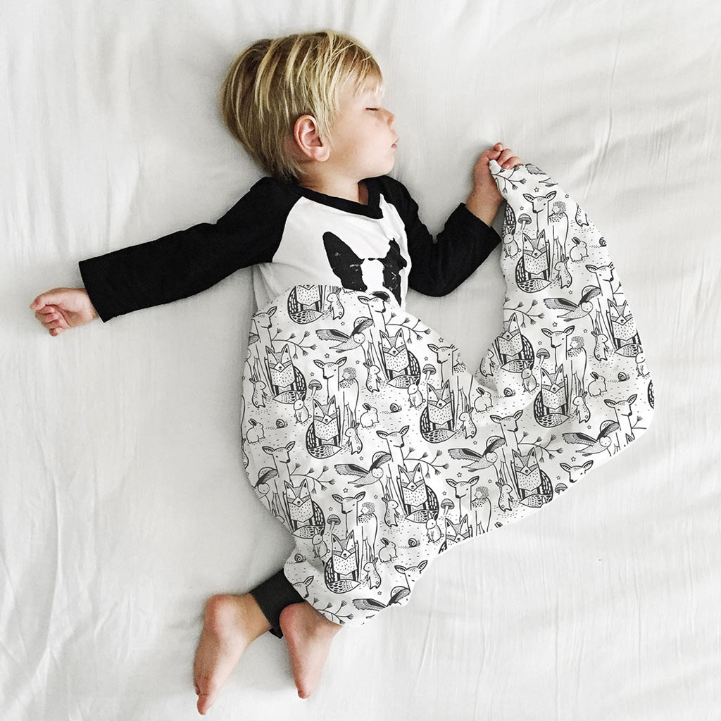 Wee Gallery Organic Muslin Swaddle Forest - UrbanBaby shop