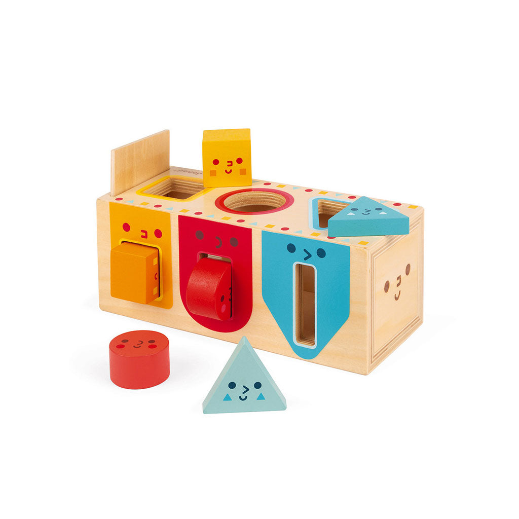 Janod Geometric Shape Sorter - UrbanBaby shop