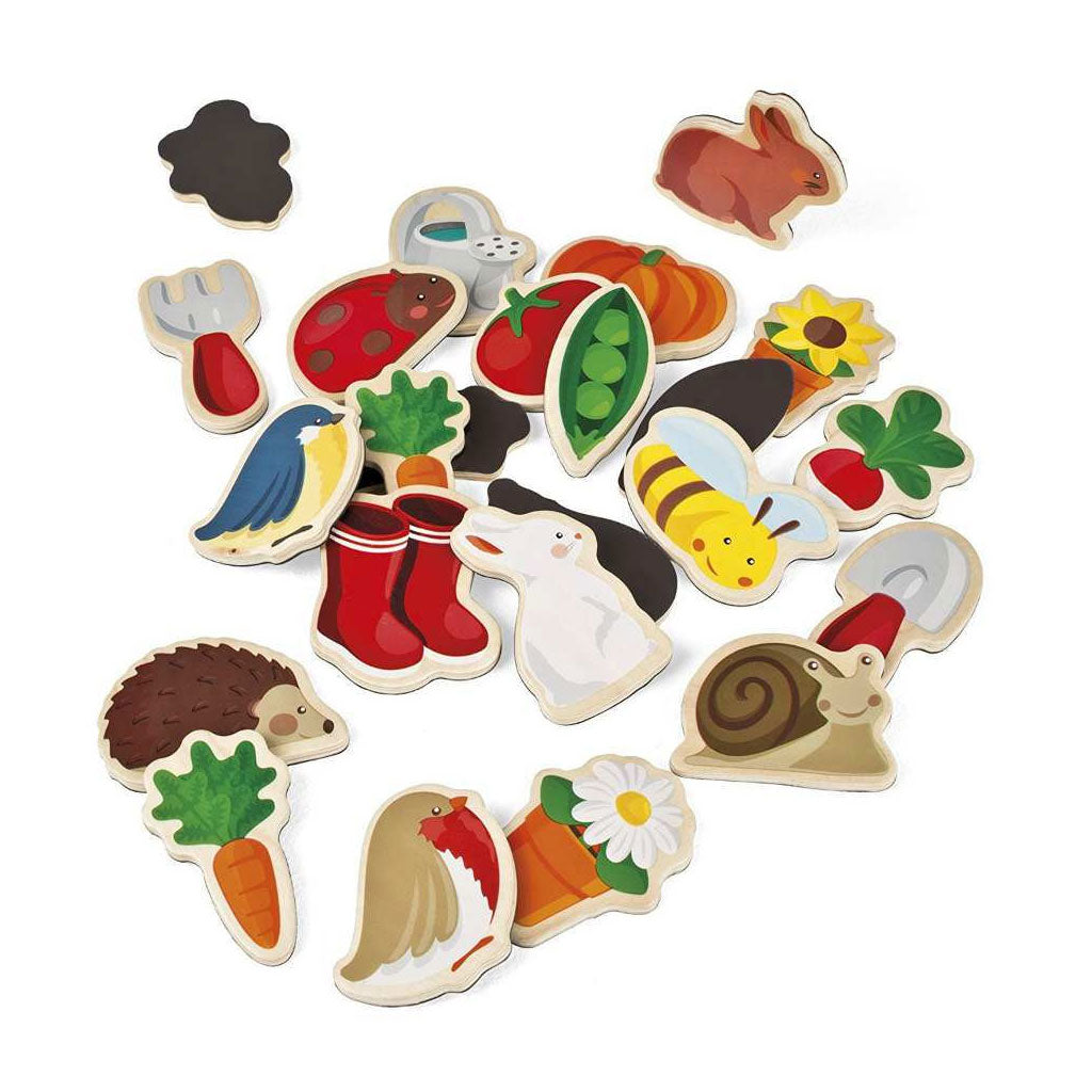 Janod Magnets - Garden - UrbanBaby shop