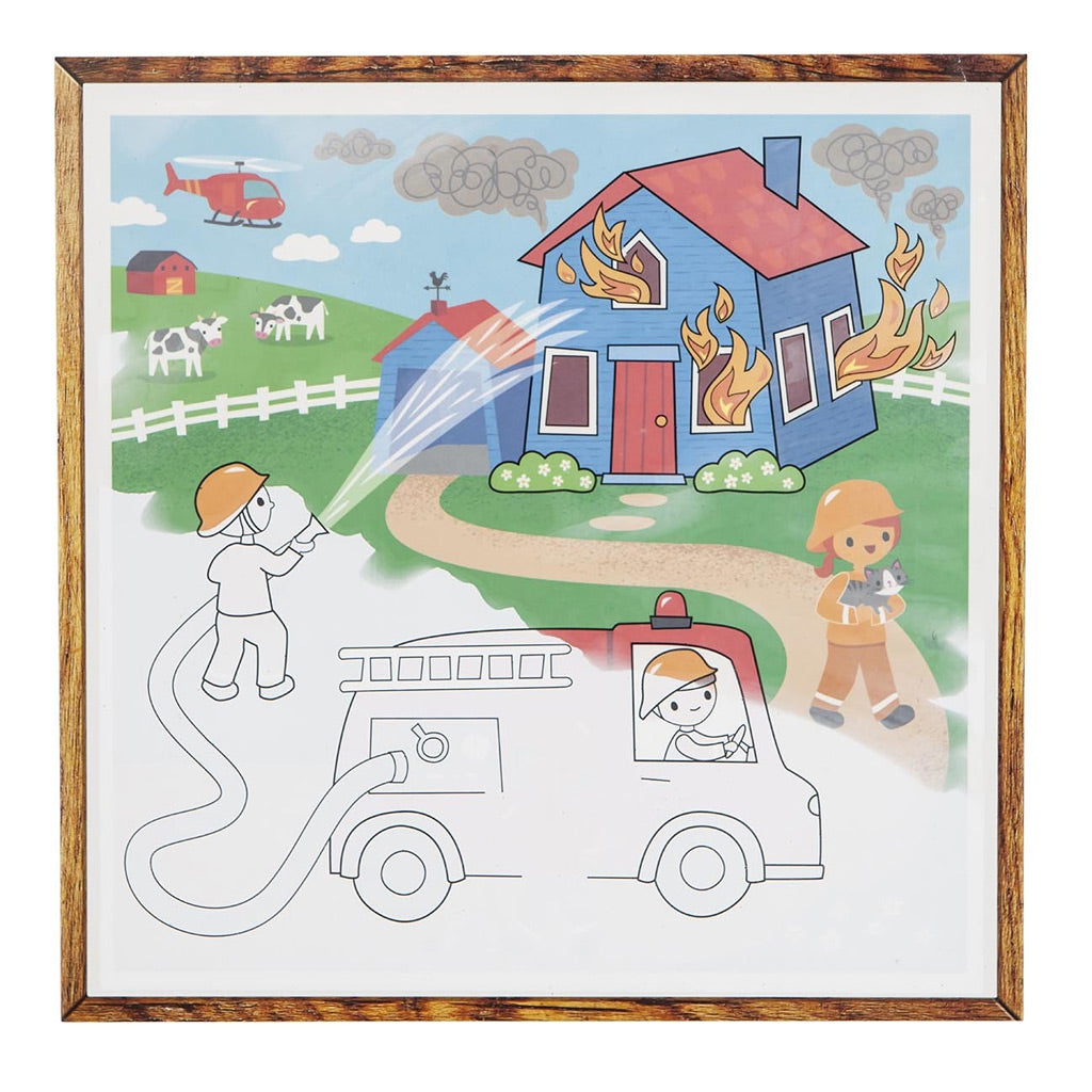 Tiger Tribe Magic Painting World - Things That Go - UrbanBaby shop