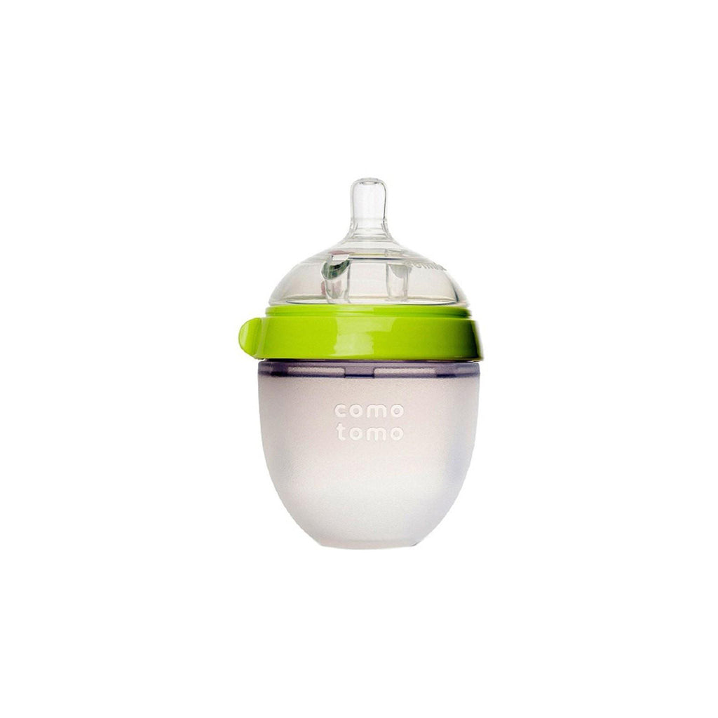 Comotomo Silicone Baby Bottle 150ml Green