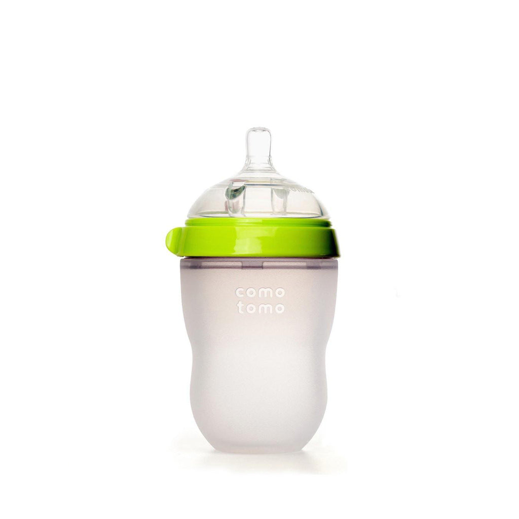Comotomo Silicone Baby Bottle 250ml Green