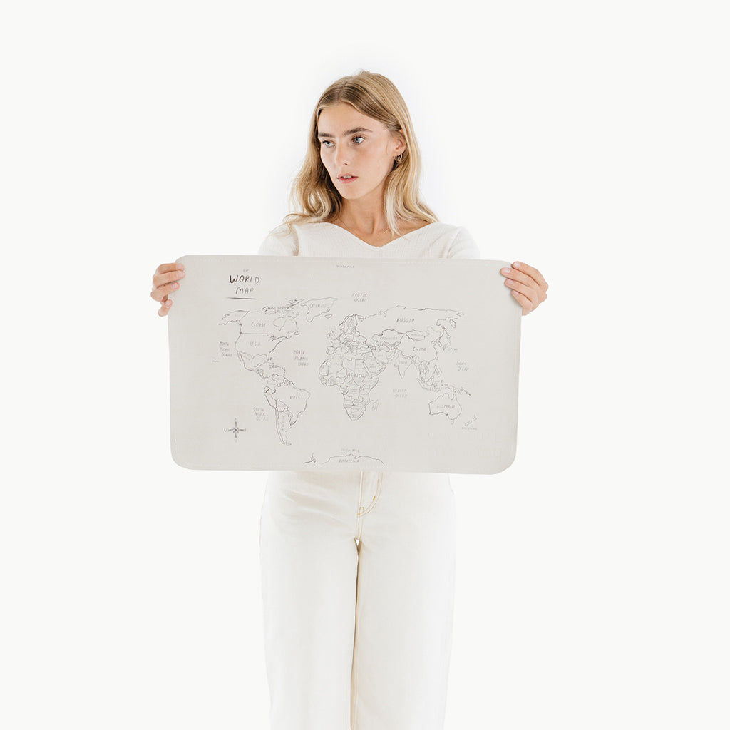 Gathre Mat Micro - World Map - UrbanBaby shop
