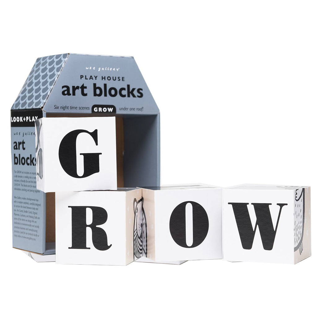 Wee Gallery Play House Art Blocks Grow
