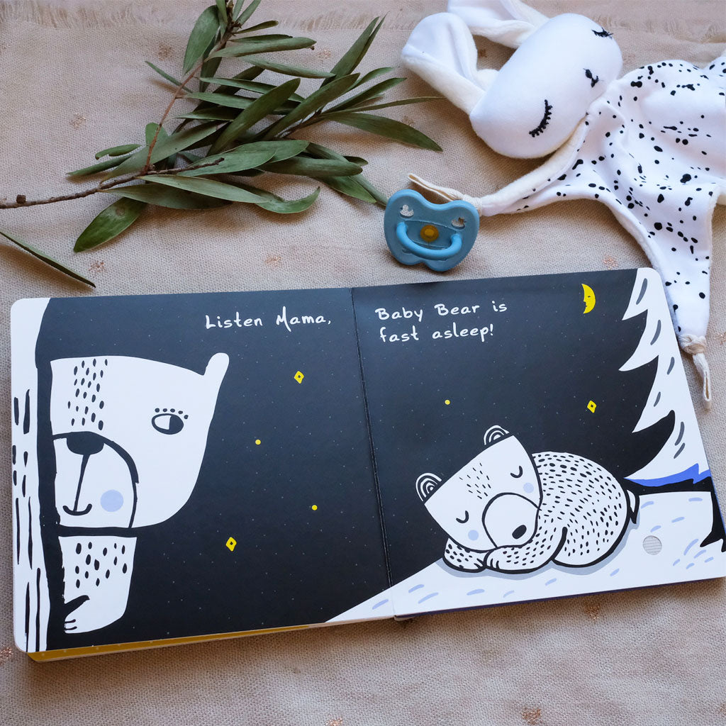 Wee Gallery Press & Listen Book Hush Little Bear