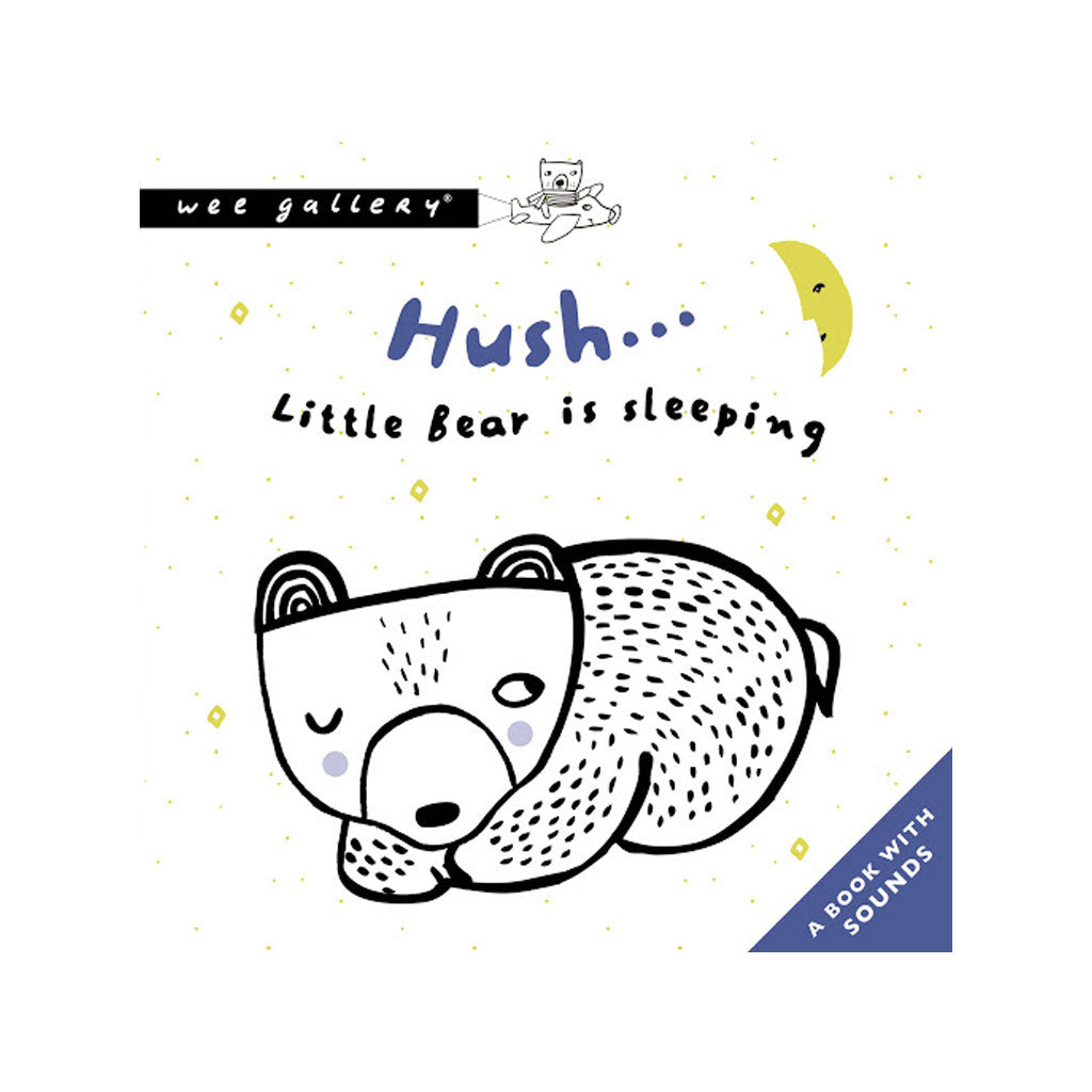 Wee Gallery Press & Listen Book Hush Little Bear - UrbanBaby shop