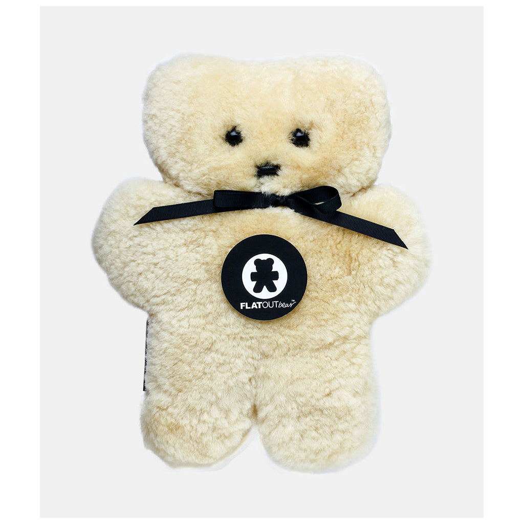 FLATOUT Sheepskin Bear - Honey - UrbanBaby shop