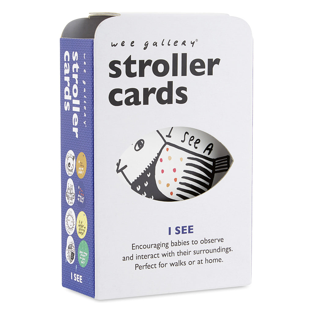 Wee Gallery Stroller Cards I See - UrbanBaby shop