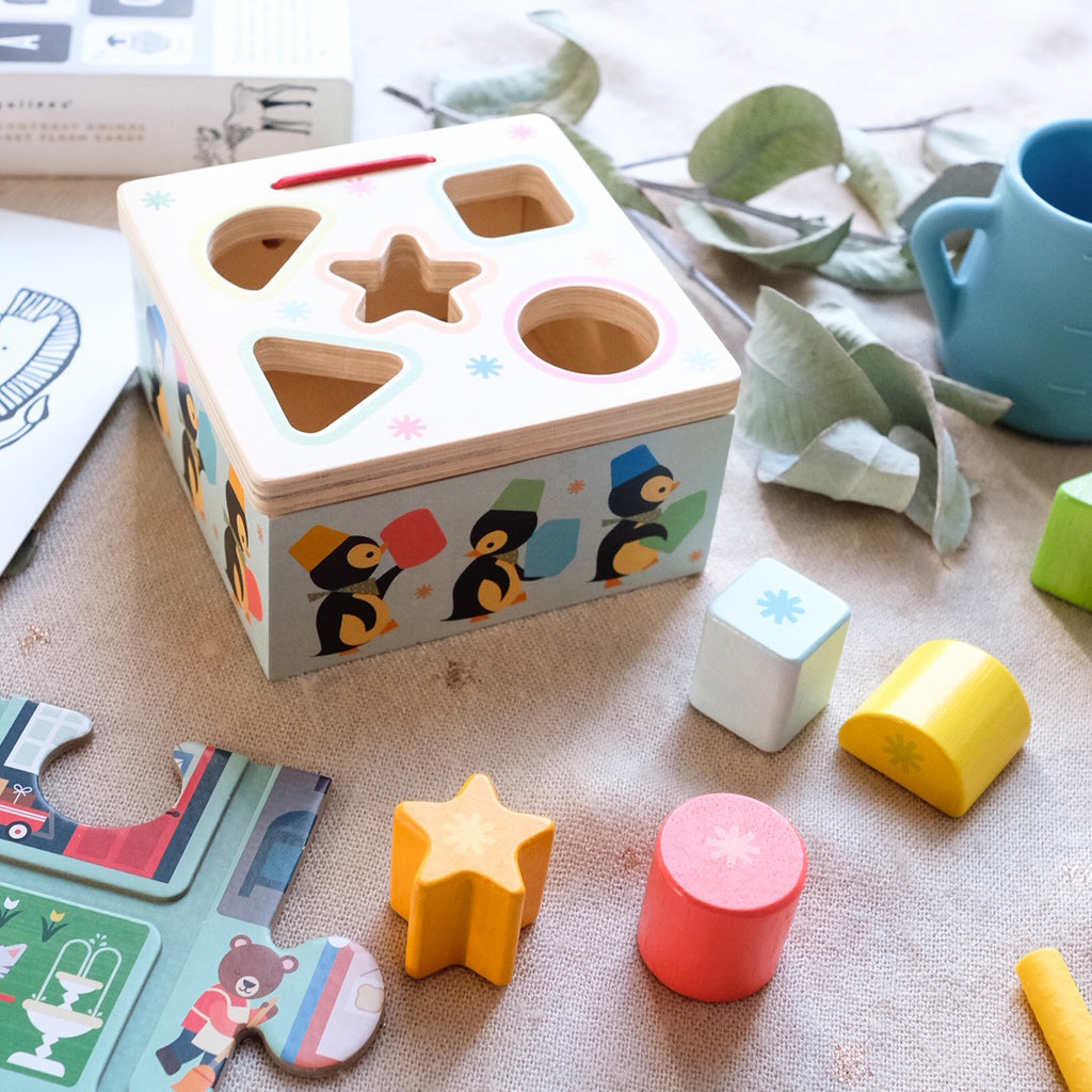 Djeco Geo Junzo Shape Sorter - UrbanBaby shop