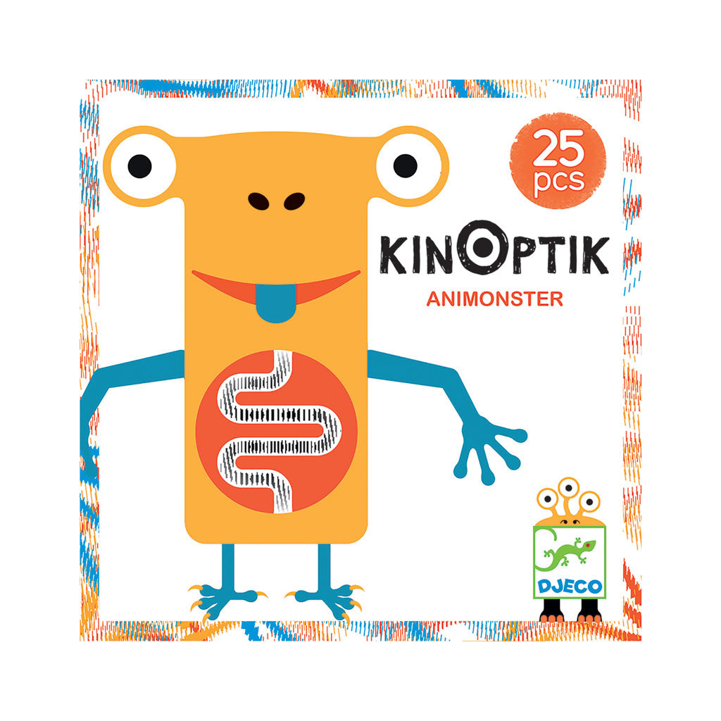 Djeco Kinoptik Construction Set - Animonster - UrbanBaby shop
