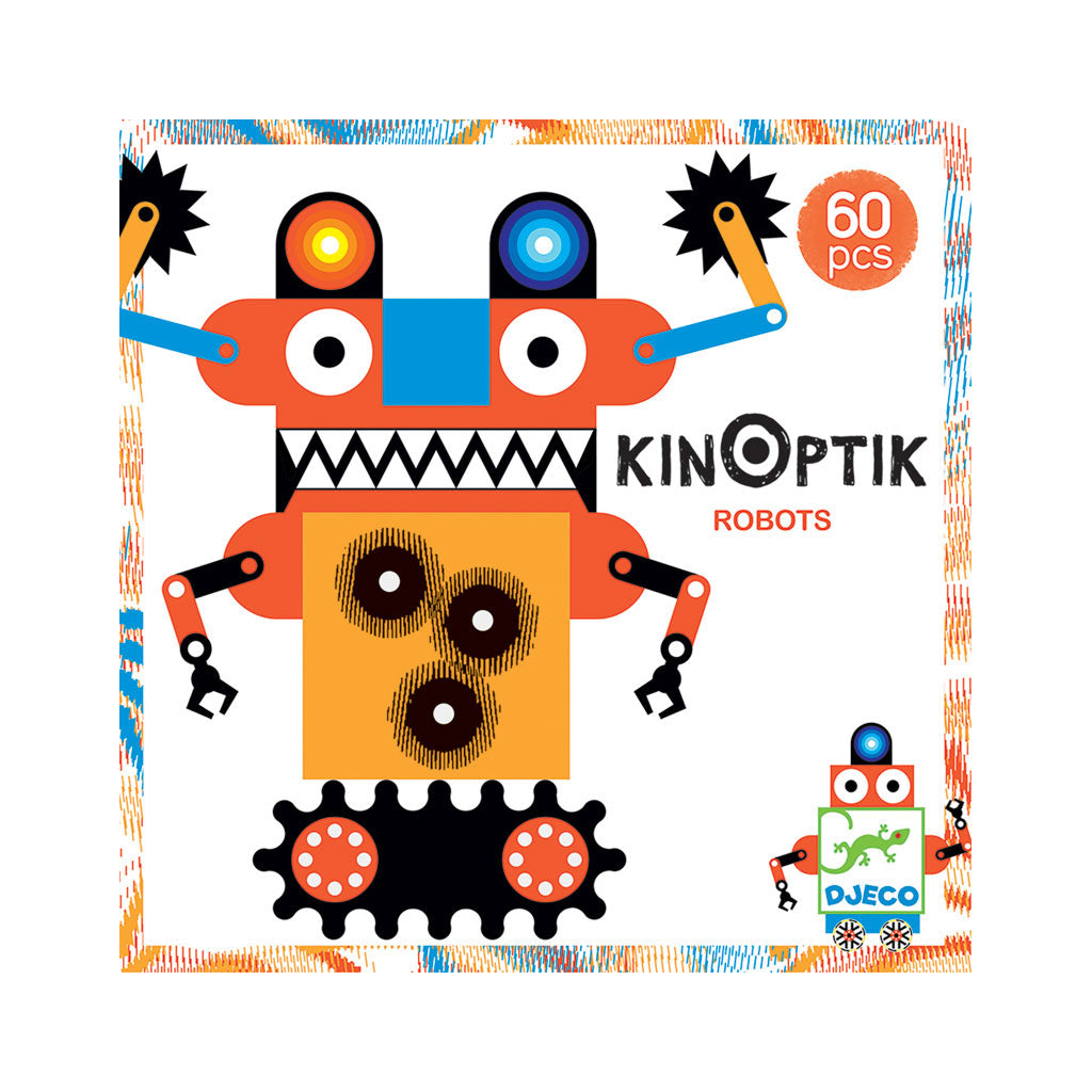Djeco Kinoptik Set - Robots - UrbanBaby shop