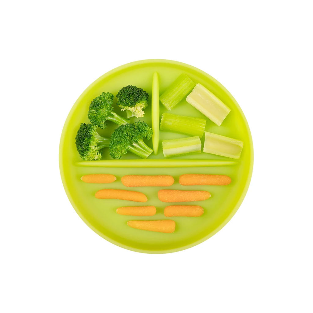 OlaBaby Divided Suction Plate Kiwi - UrbanBaby shop