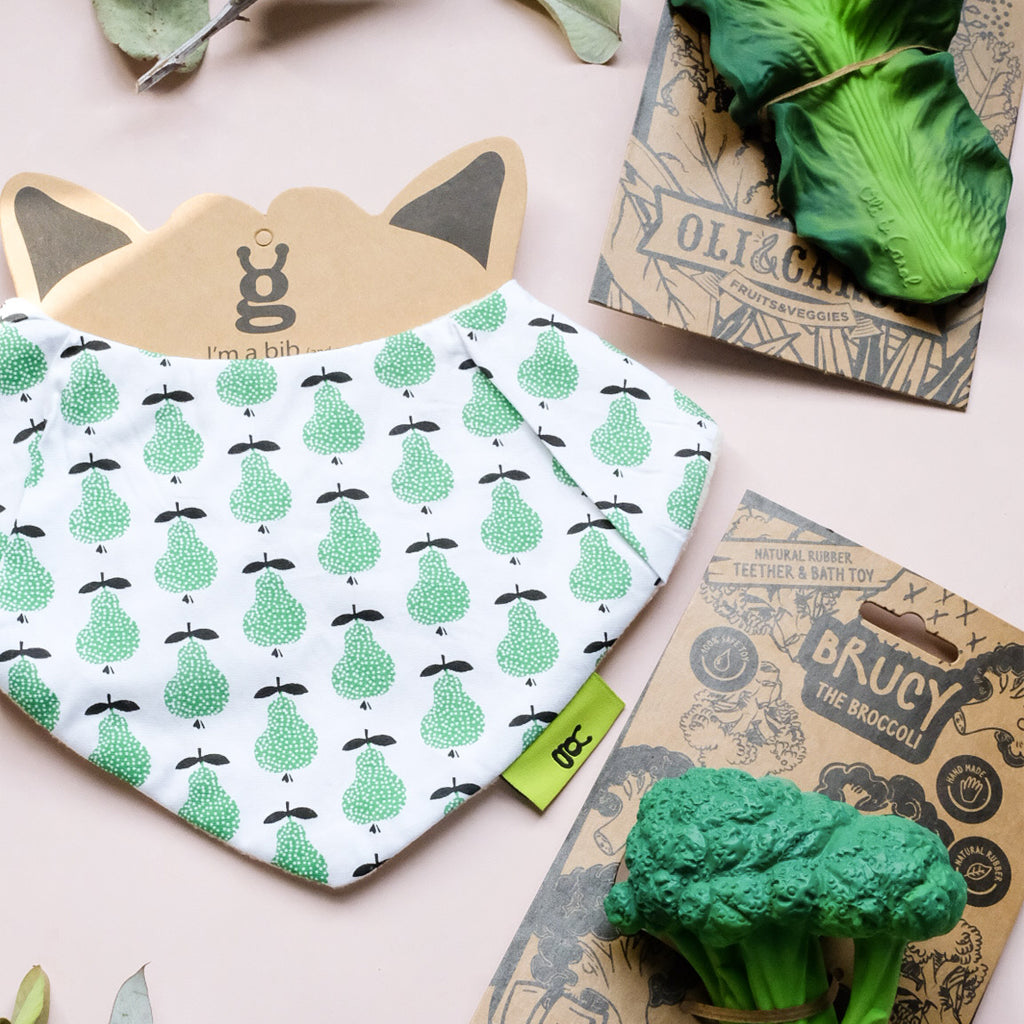 Love From Bug Pear Bib_UrbanBaby Shop