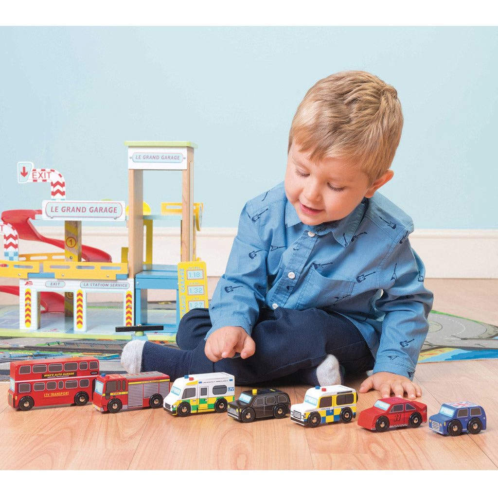 Le Toy Van London Car Set - UrbanBaby shop