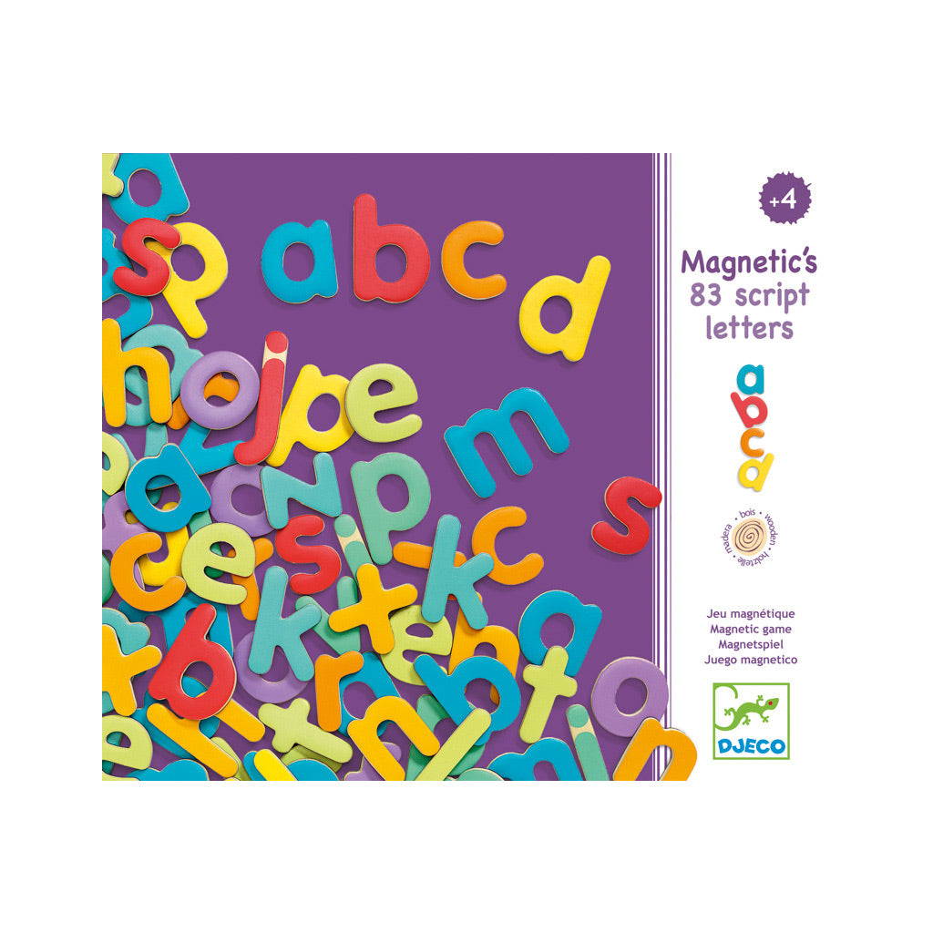 Djeco Magnetics 83 Lower Case Letters - UrbanBaby shop