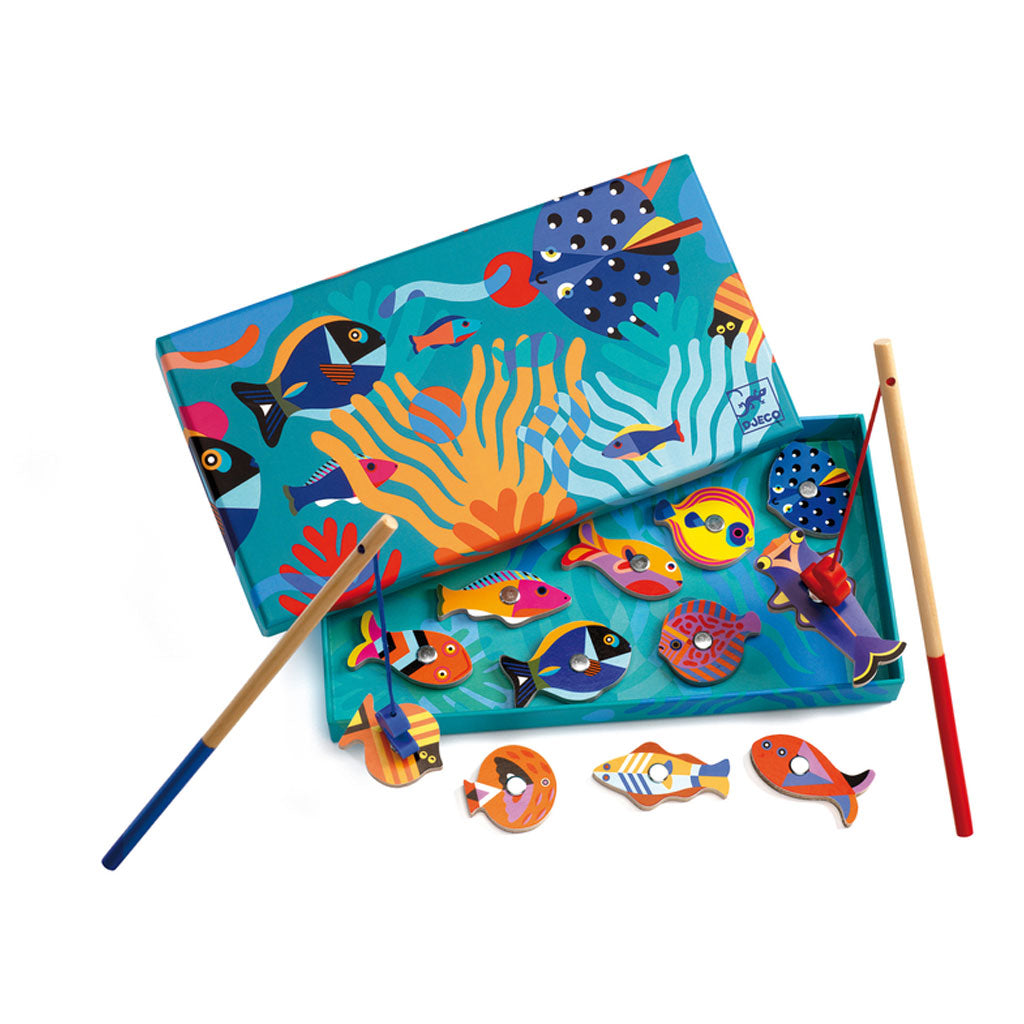 Djeco Magnetics Graphic Fishing Game - UrbanBaby shop
