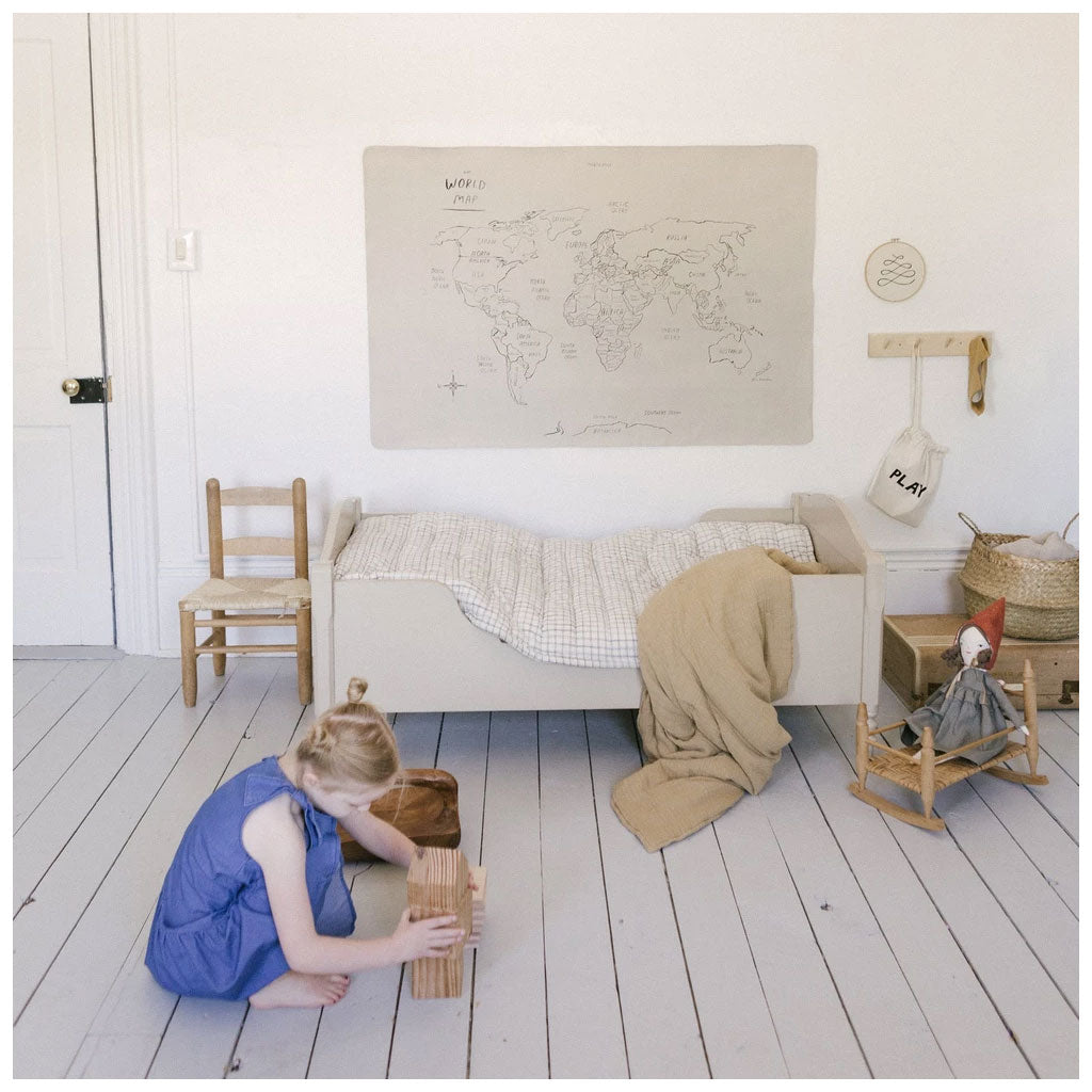 Gathre Mat Mini Plus - World Map - UrbanBaby shop