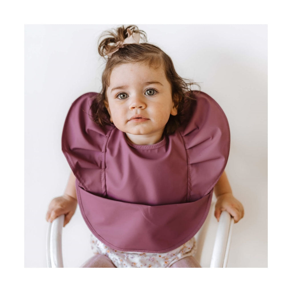 Snuggle Hunny Kids Snuggle Bib - Mauve - UrbanBaby shop