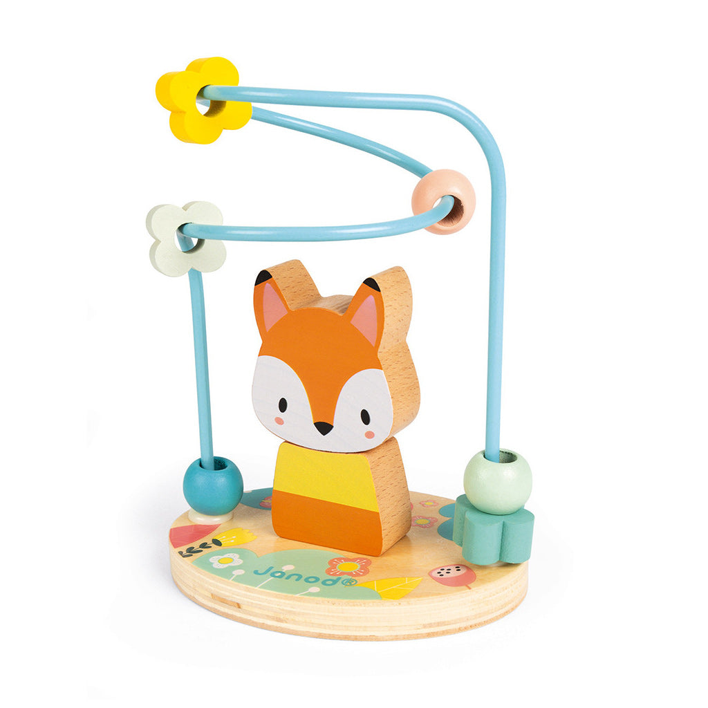 Janod Pure Fox Bead Maze - UrbanBaby shop