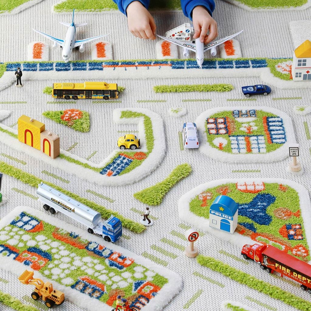IVI Interactive Play Rug Mini City Large - UrbanBaby shop