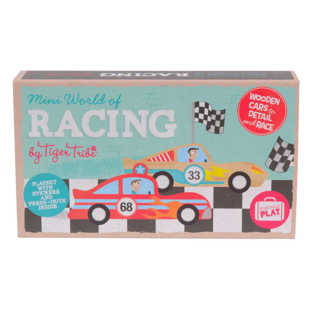 Tiger Tribe Mini World of Racing - UrbanBaby shop